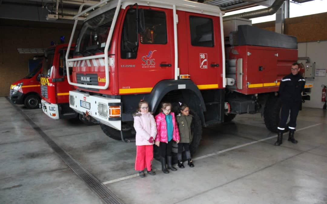 Minikids Novembre : visite caserne de Pompiers