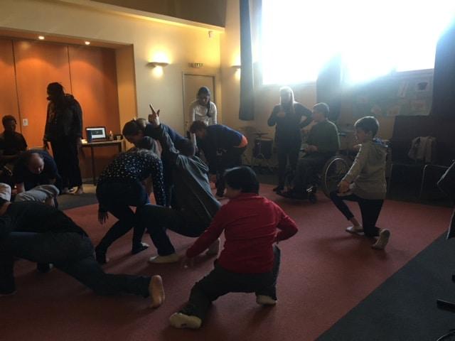 Atelier des Grands Décembre 2019 : danse avec Marjorie