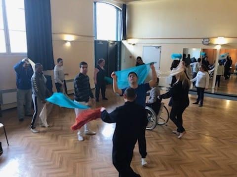 Atelier FEVRIER 2020 : Danse avec Marjorie pour les grands
